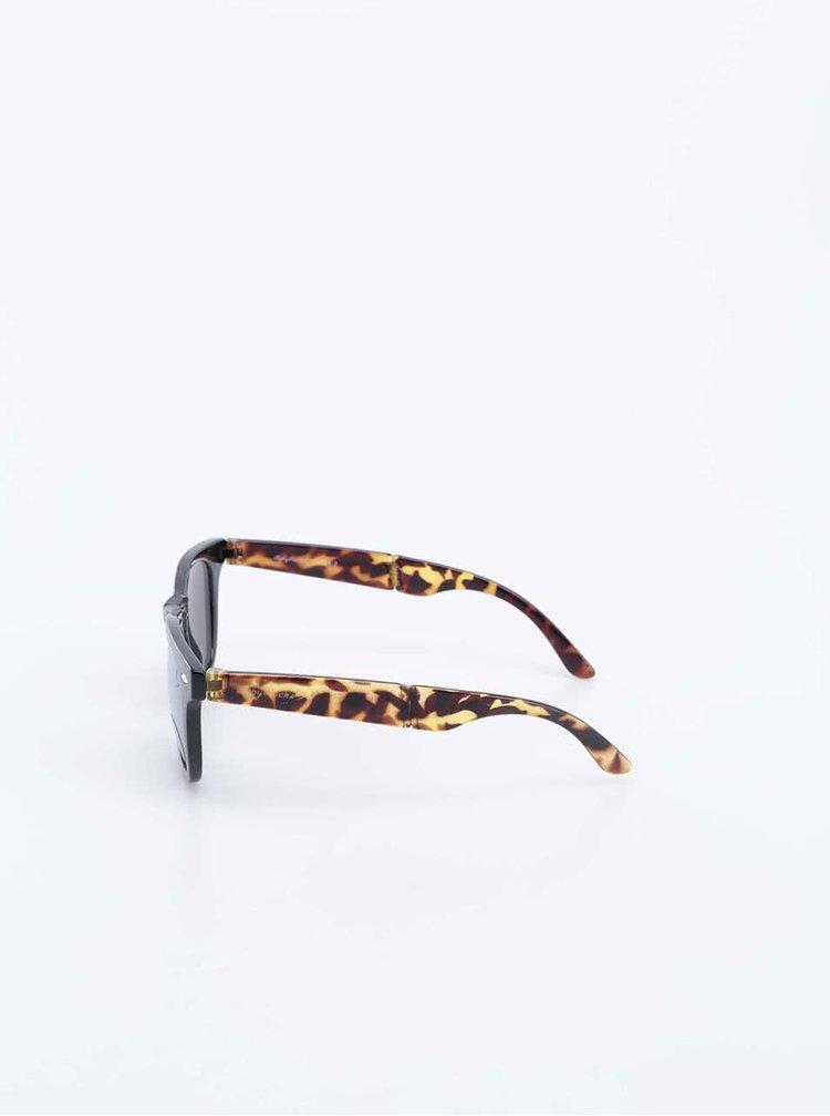 Ochelari de soare galben cu negru model carapace de țestoasă Ruby Rocks