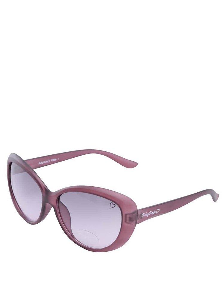 Vínové sluneční brýle Ruby Rocks