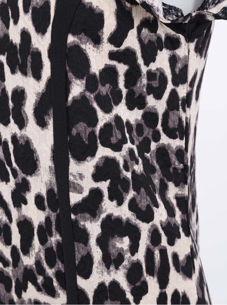 Šaty s leoparďou potlačou Paper Dolls
