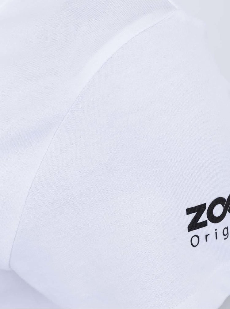 Bílé dámské tričko ZOOT Originál Neflákej se a pádluj