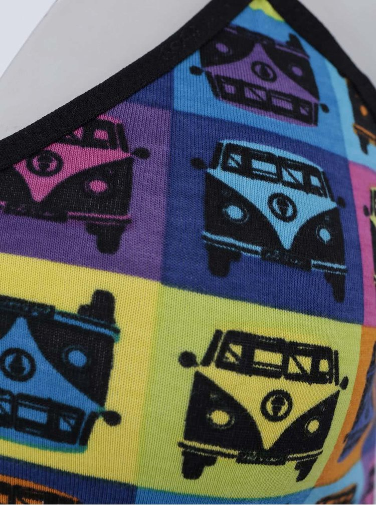 Farebné dámske tielko s minivanmi 69SLAM
