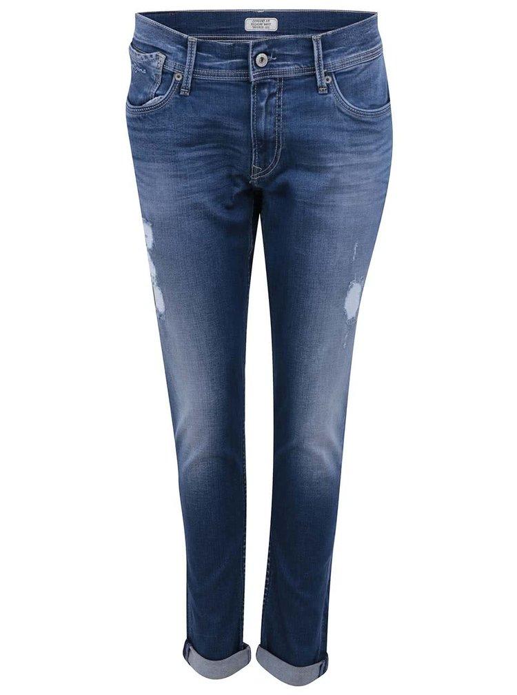 Modré dámské džíny Pepe Jeans Joey