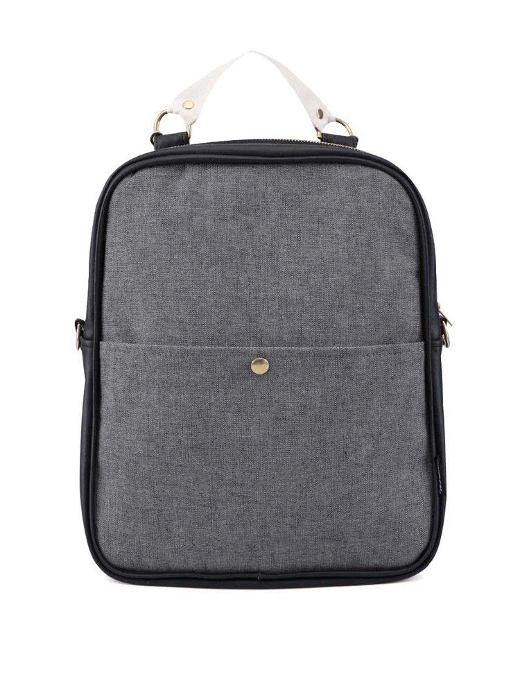 Šedý denimový batoh/taška ZOOT Lokál