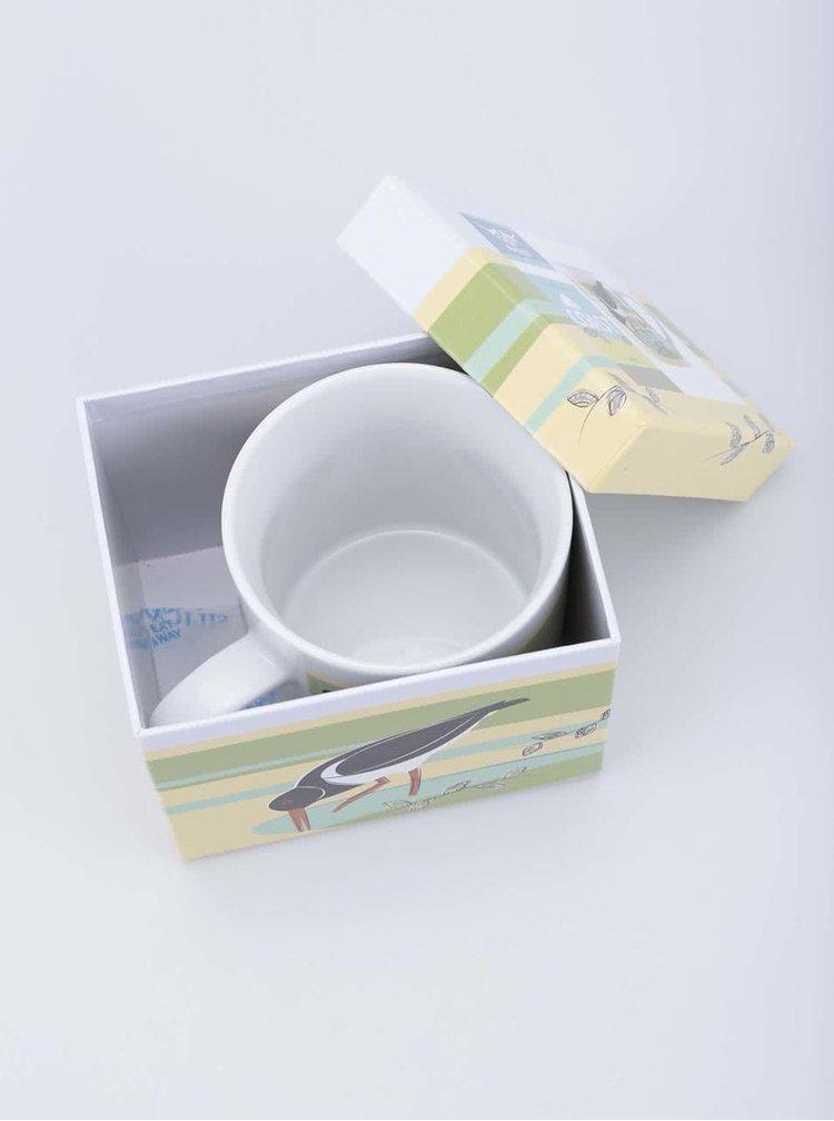 Porcelánový hrnek s dárkovou krabičkou Magpie Oyster Catcher