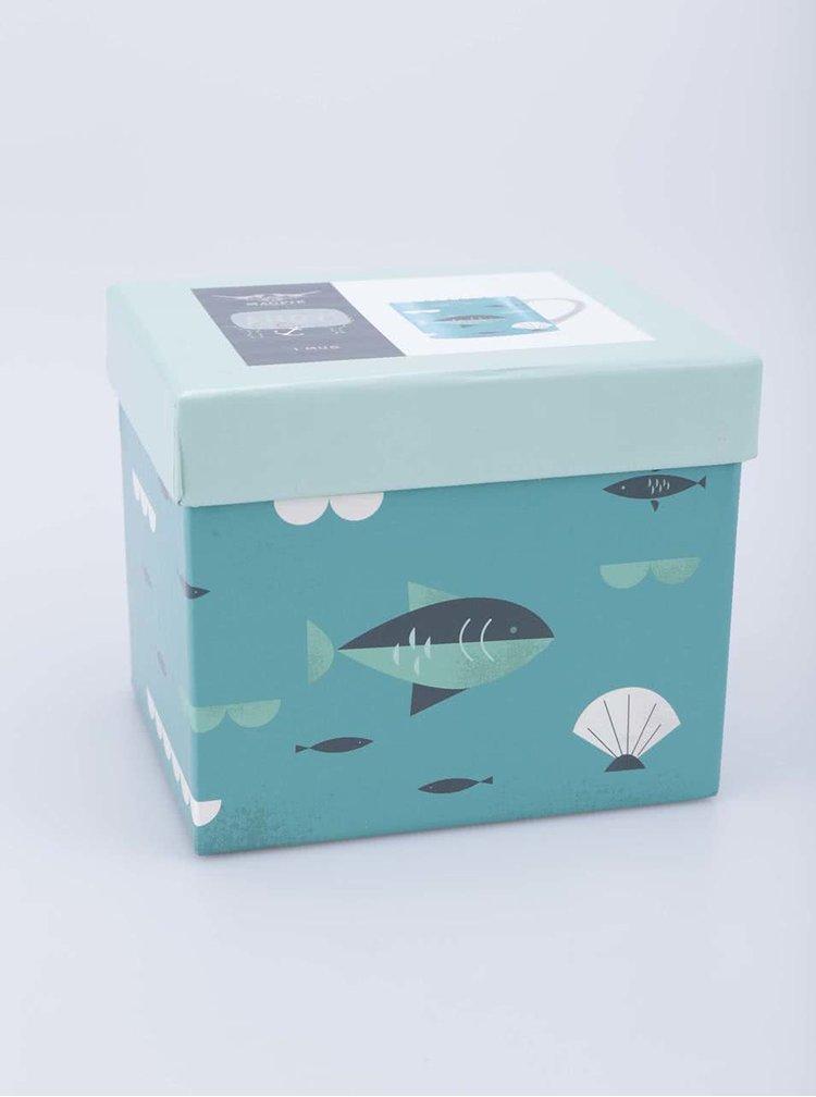 Porcelánový hrnek s dárkovou krabičkou Magpie Fish Ahoy!