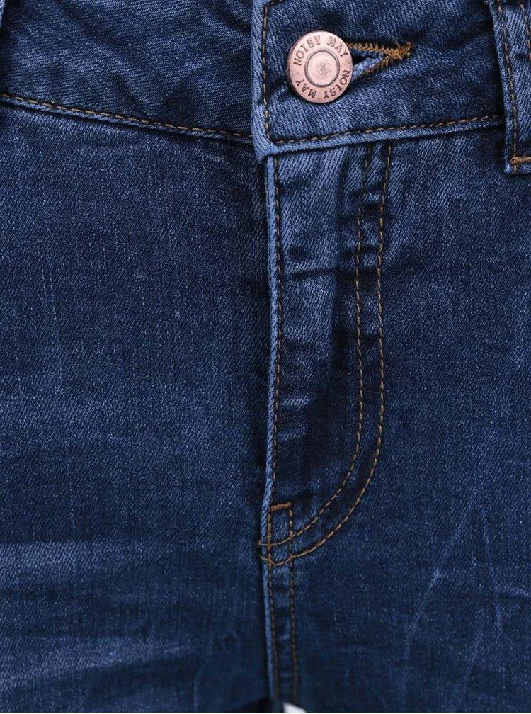 Modré skinny džíny Noisy May Lucy
