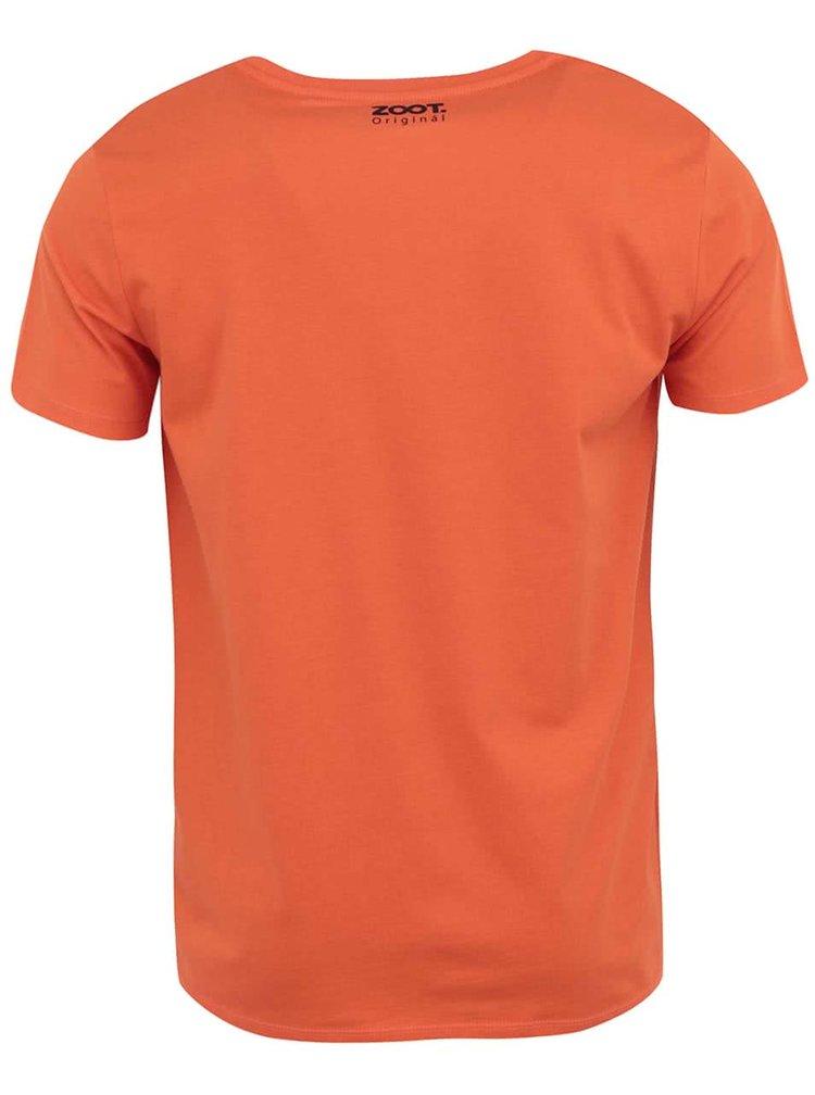 Oranžové pánské triko ZOOT Originál Cyklo Man