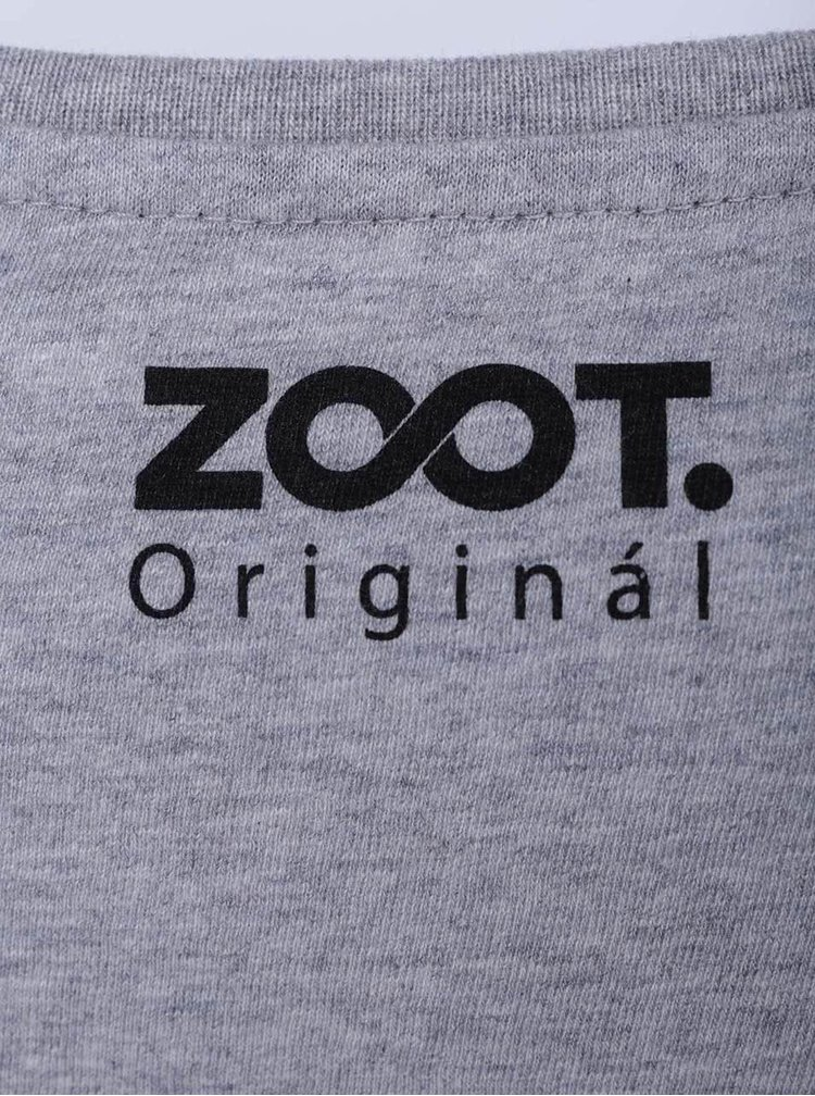 Šedé dámské tričko ZOOT Originál Velo love