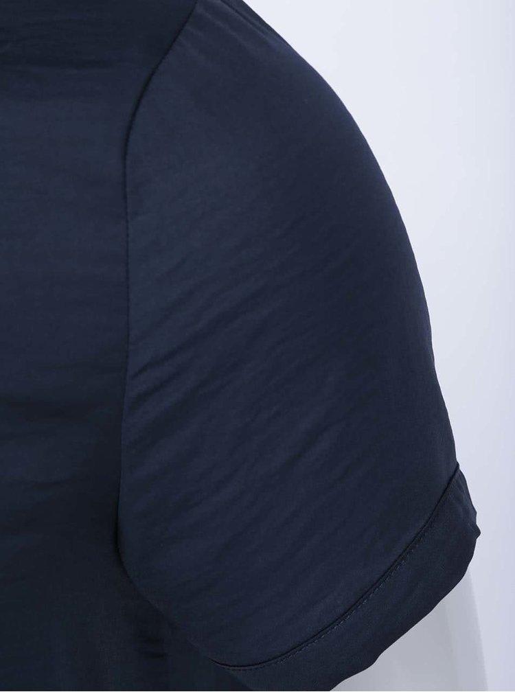 Bluză navy, model Meli de la VILA