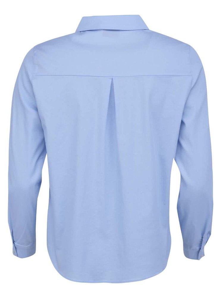Svetlomodrá košeľa VILA Pitta