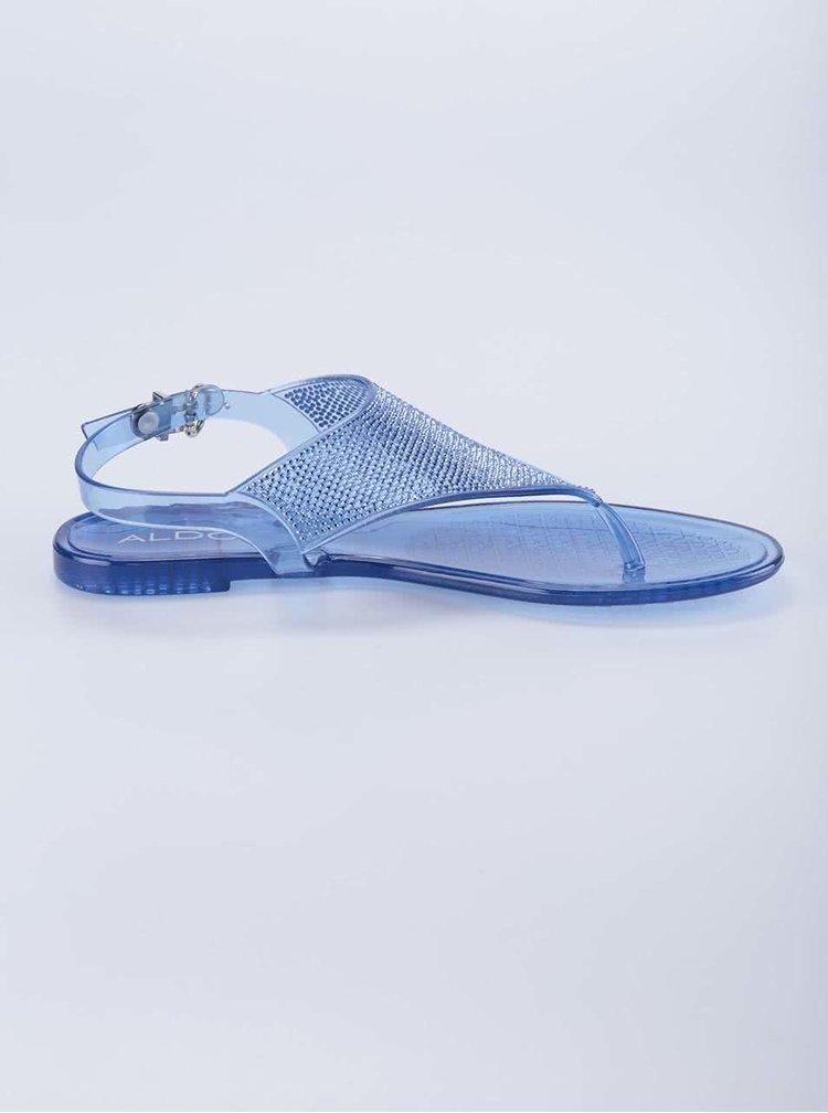 Modré gumové sandálky ALDO Venassa