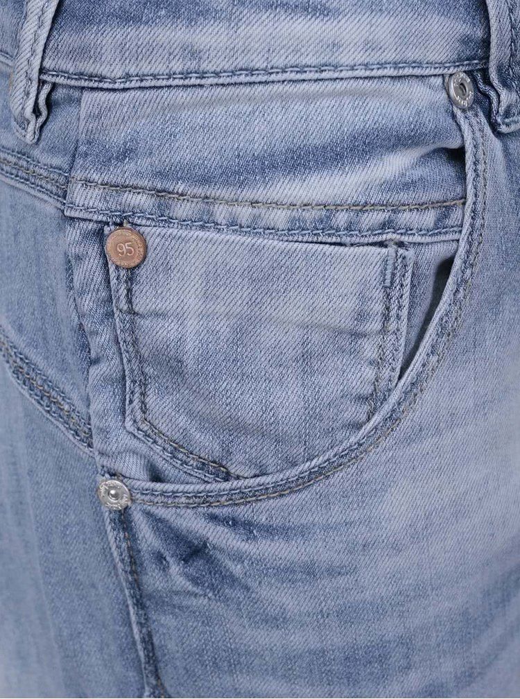 Modré džínové 3/4 kalhoty ONLY Lise Knickers