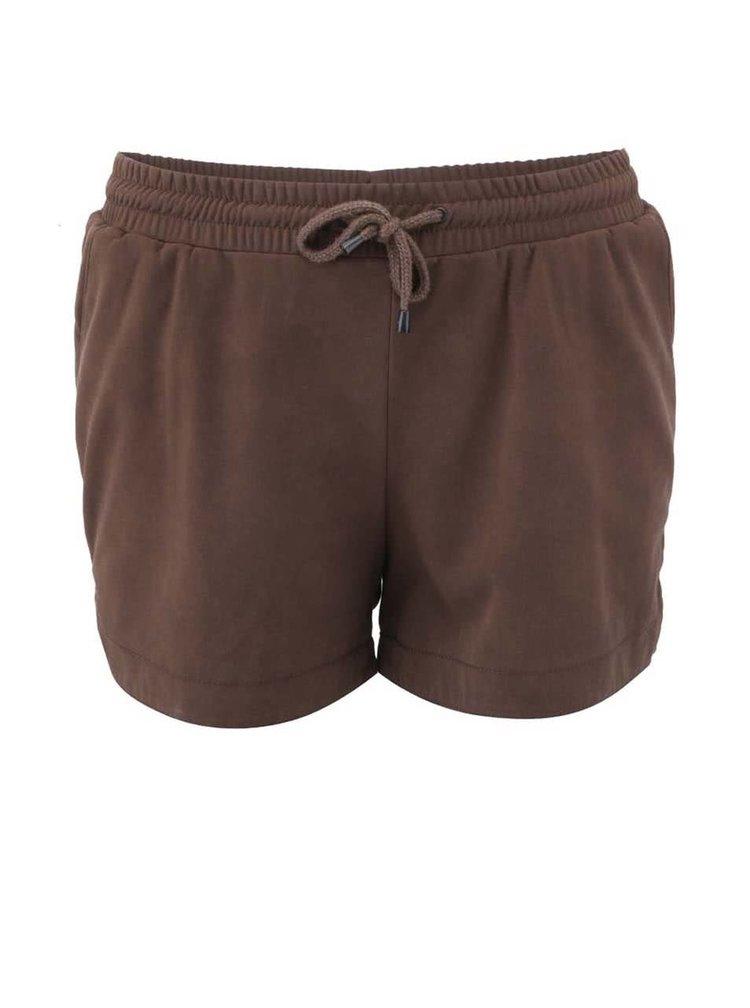 Pantaloni scurti ONLY Melanie - maro