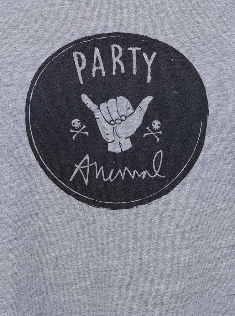 Šedé dámské tílko ZOOT Originál Party Animal