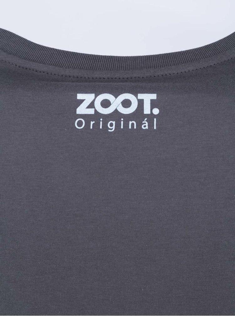 Tmavosivé pánske tričko ZOOT Originál Orli