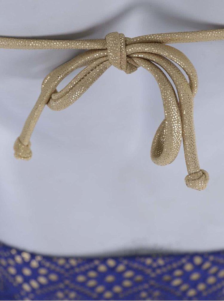 Fialovo-zlaté vzorované bikiny Relleciga Marianne