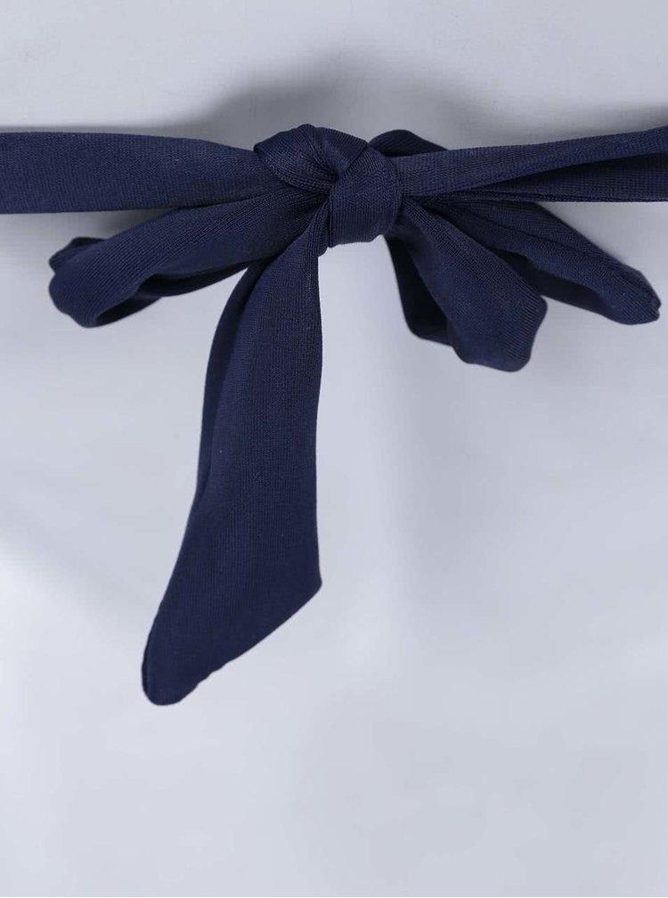 Costum de baie bleumarin, de la Relleciga, cu detalii din metal - bleumarin