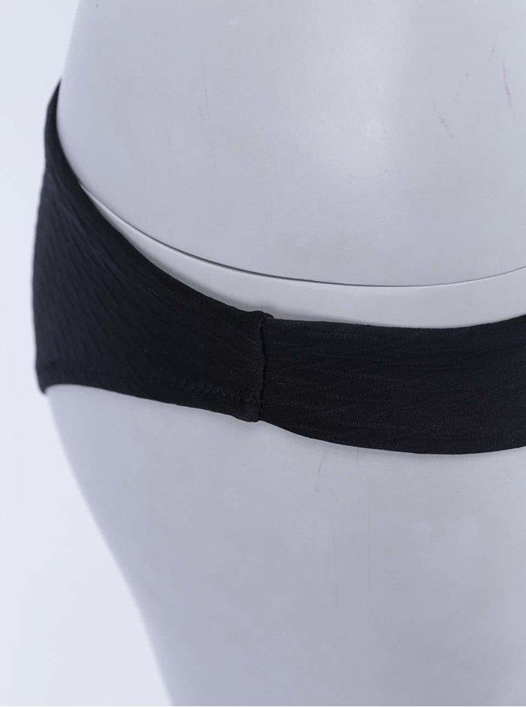 Costum de baie negru cu sutien bandeau Relleciga Cherry