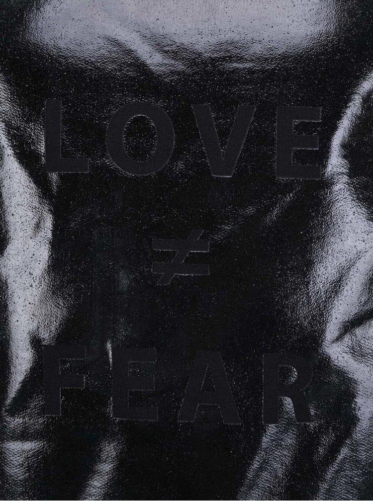 Černá unisex mikina ZOOT Originál Love fear