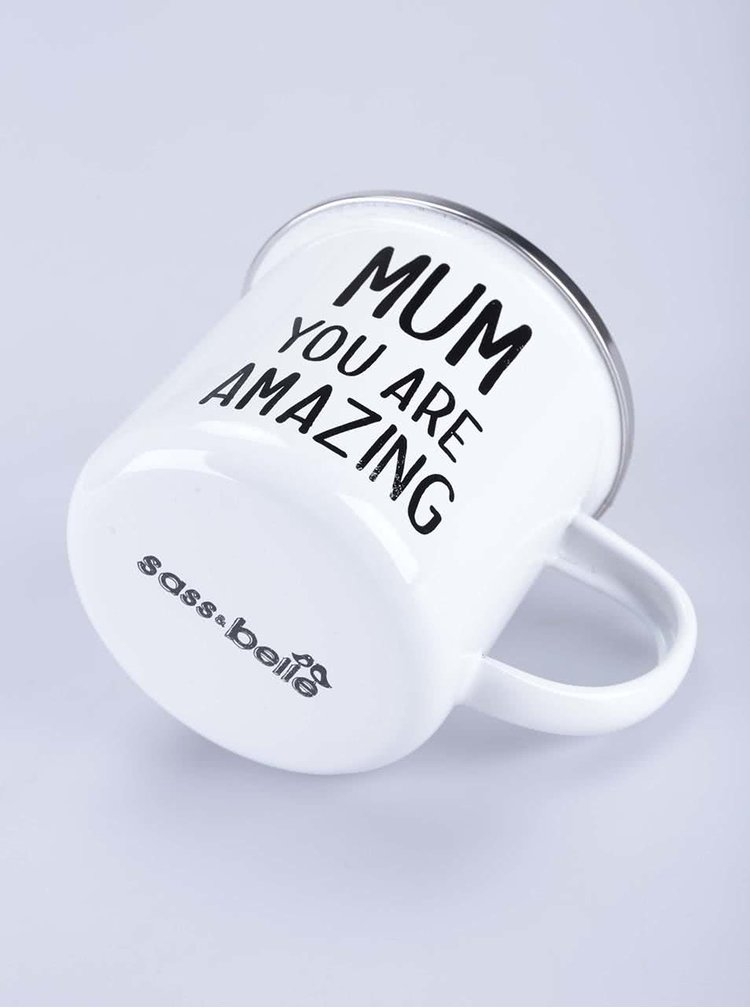 "Cana alba din email - Sass&Belle ""Mum You Are Amazing"""