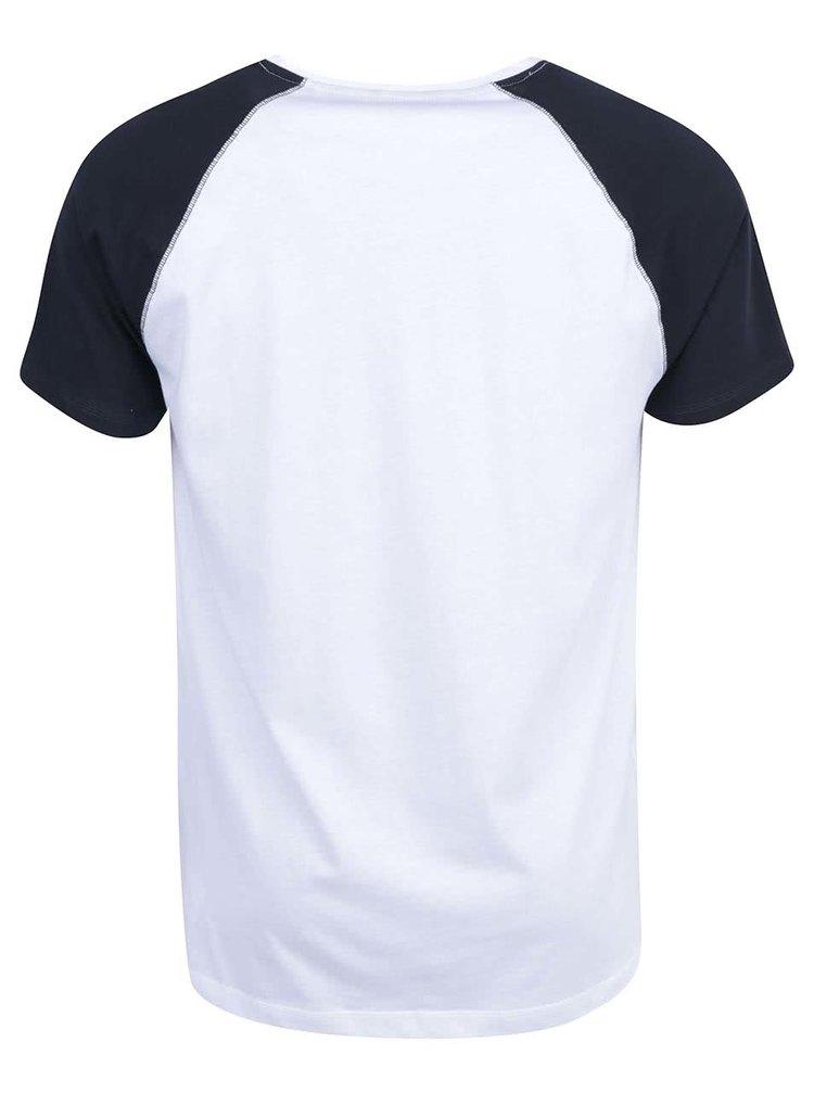 Černo-bílé triko ONLY & SONS Trisdan