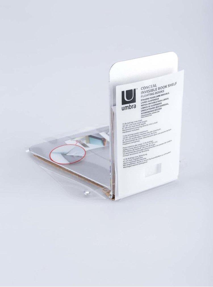 Raft de cărți metalic Umbra Conceal 'Invisible'