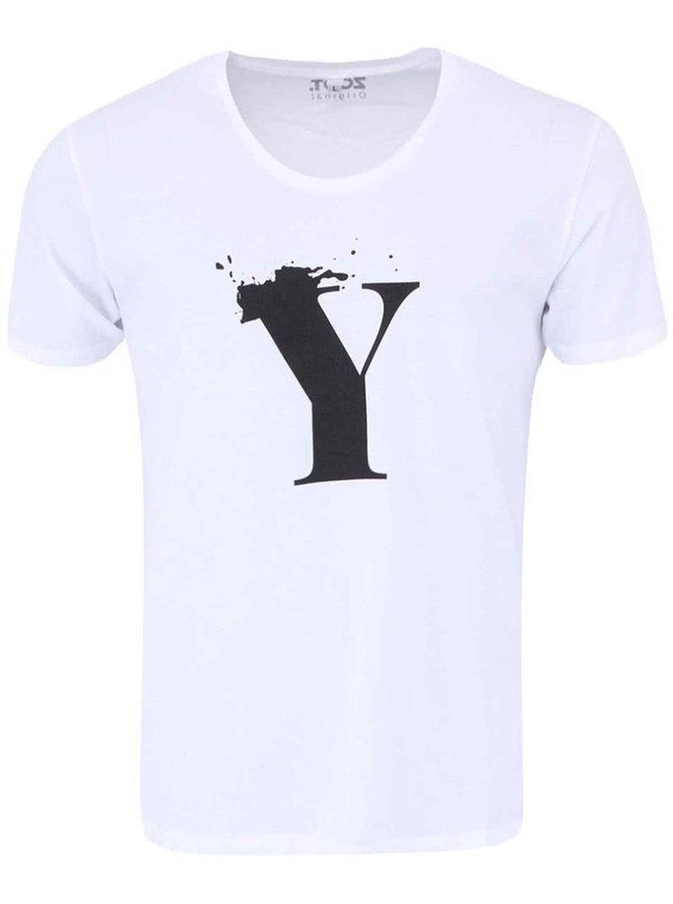 Biele unisex tričko ZOOT Originál Y