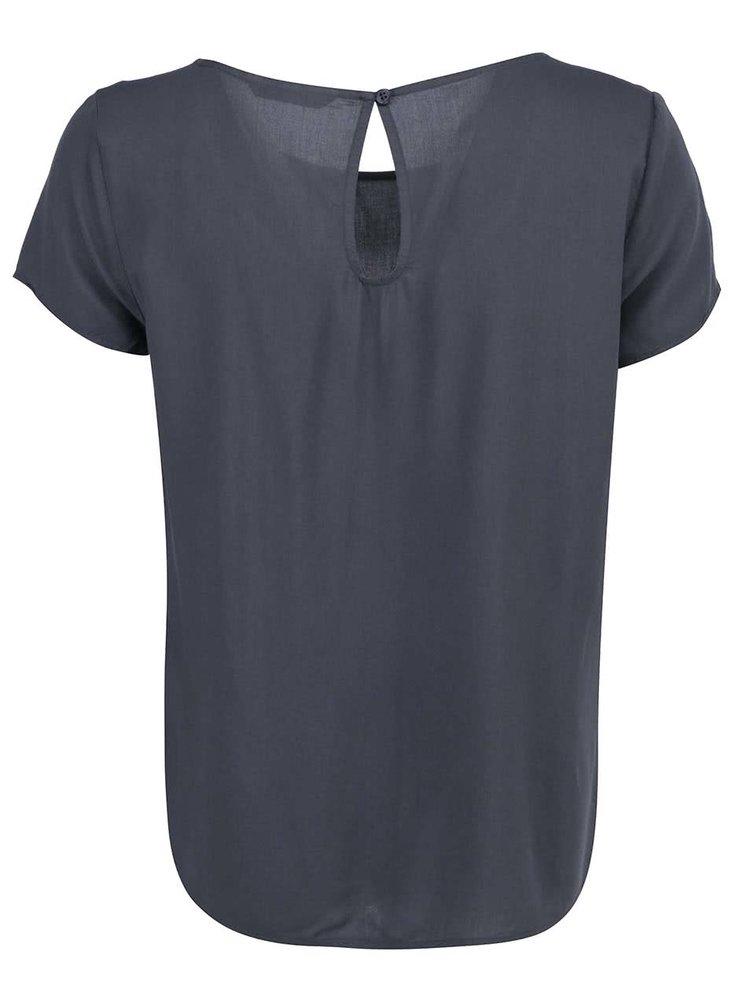 Tricou cu croială lejeră ONLY Geggo - gri