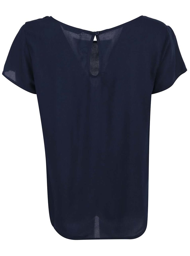 Tricou navy lejer ONLY Geggo