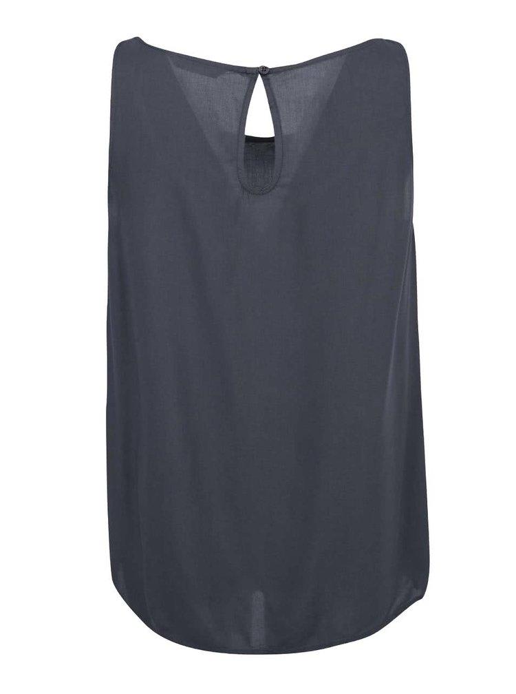 Bluză lejeră ONLY Geggo - gri