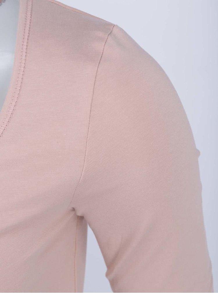 Telové tričko s dlhým rukávom VERO MODA Maxi My