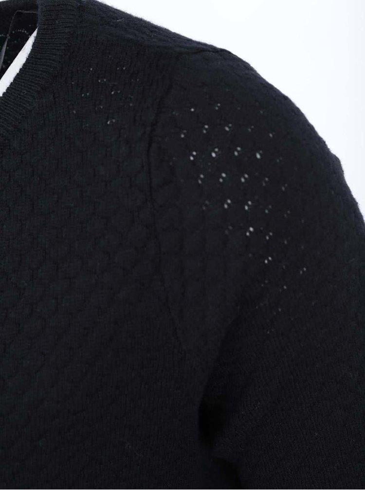 Černý vzorovaný svetr VERO MODA Care