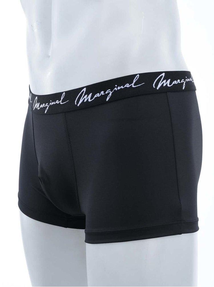 Sada dvoch boxeriek v sivej a čiernej farbe Marginal