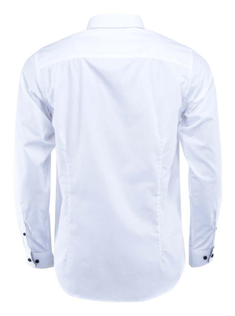Bílá košile Selected One Mix Luca Slim Fit