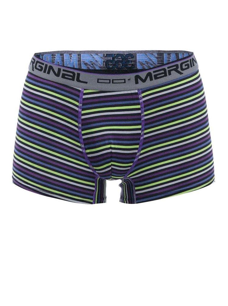 Farebné pruhované boxerky Marginal