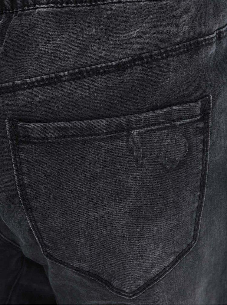 Černé volnější džíny Noisy May Nora