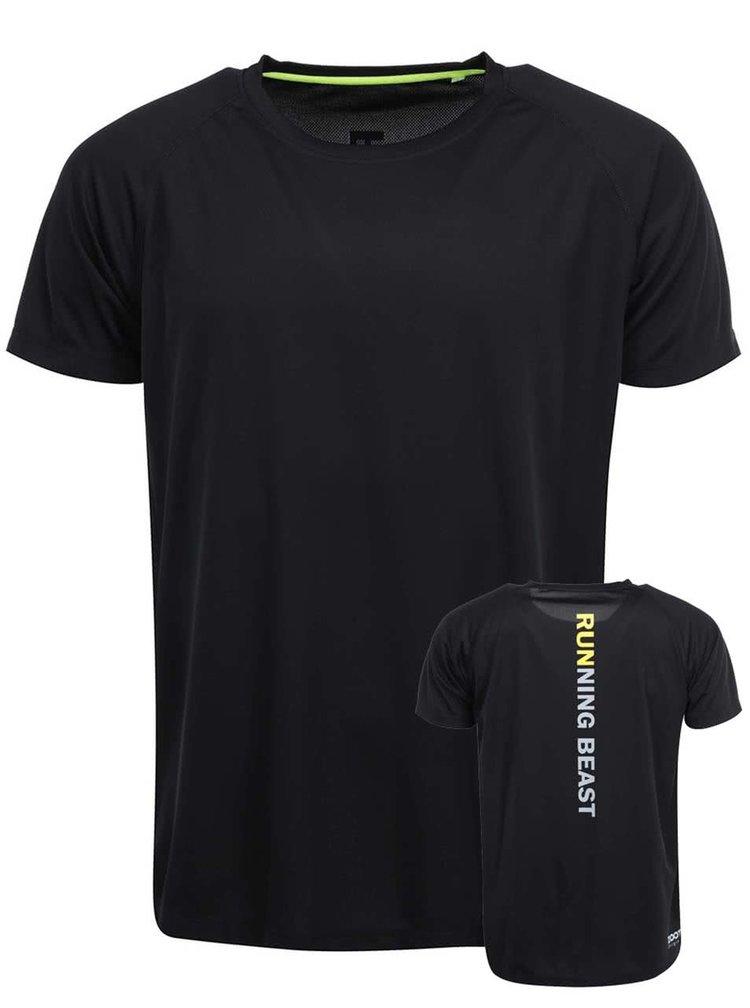 Čierne pánske tričko ZOOT Originál Running Beast