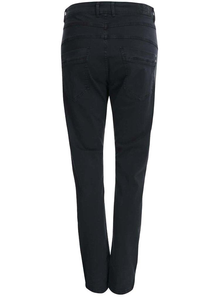 Pantaloni ONLY Lise cu talie înaltă - Gri închis