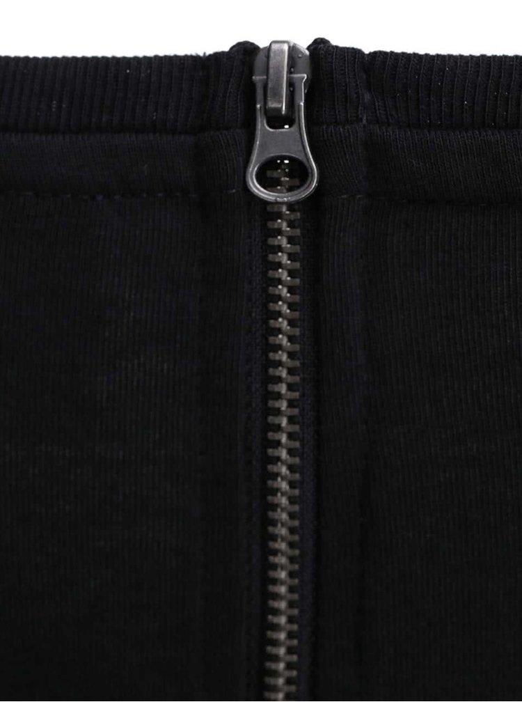 Černé šaty s 3/4 rukávem VERO MODA Sky