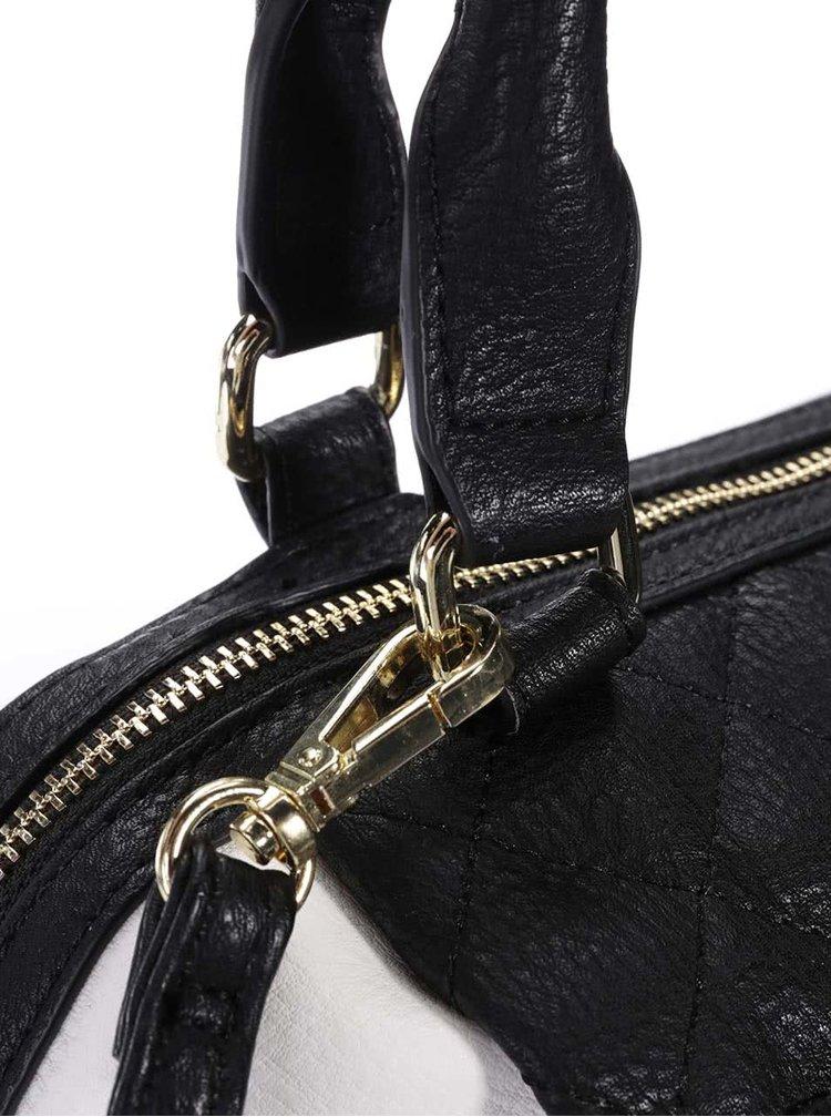 Bielo-čierna menšia kabelka Steve Madden Katee