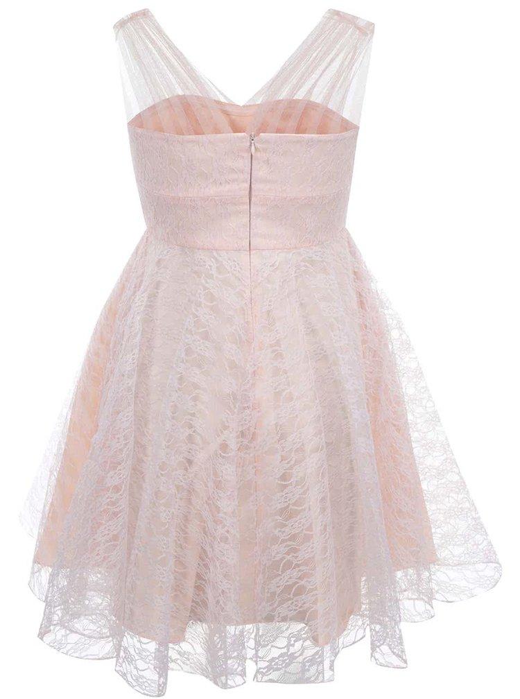 Ružové šaty Fever London Fonteyn