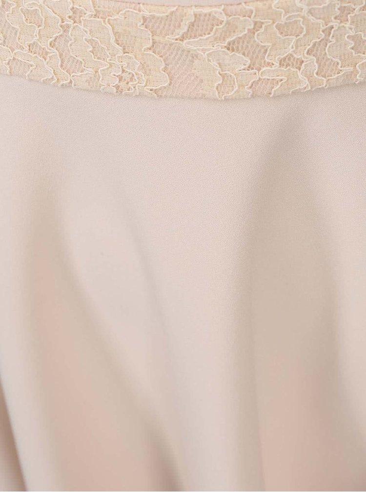 Telové šaty s prestrihom Fever London Gabrielle