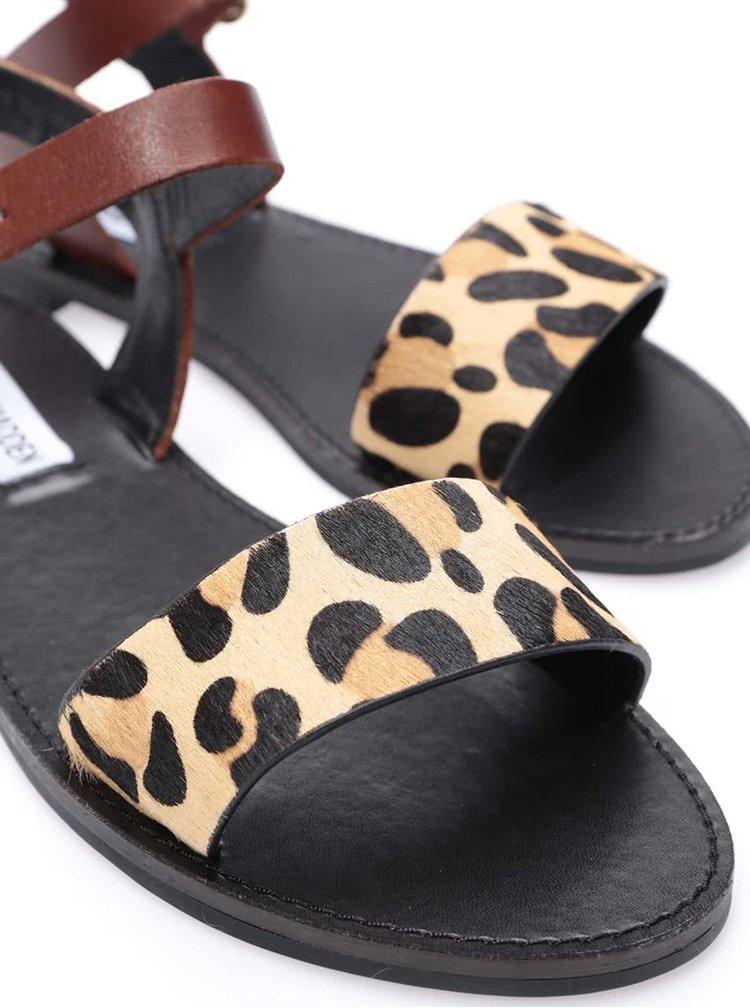 Sandale cu imprimeu de leopard Steve Madden Donddi