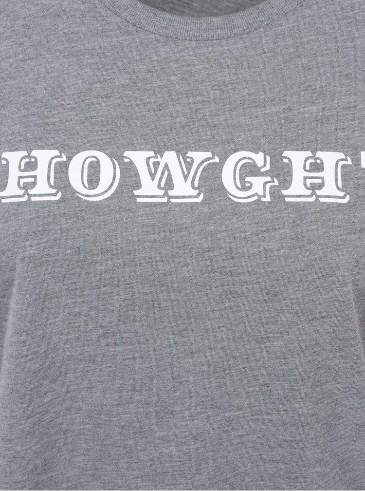 Šedé dámské tričko bez rukávů ZOOT Originál Howgh