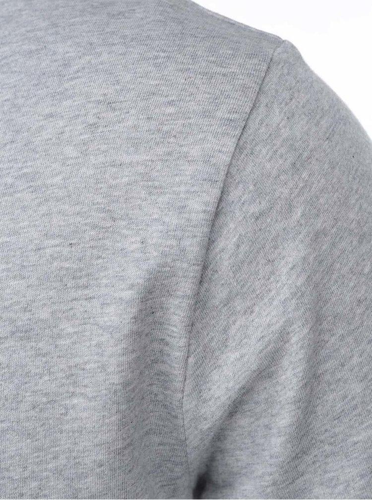 Šedé pánské triko s potiskem ZOOT Originál Trojúhelník
