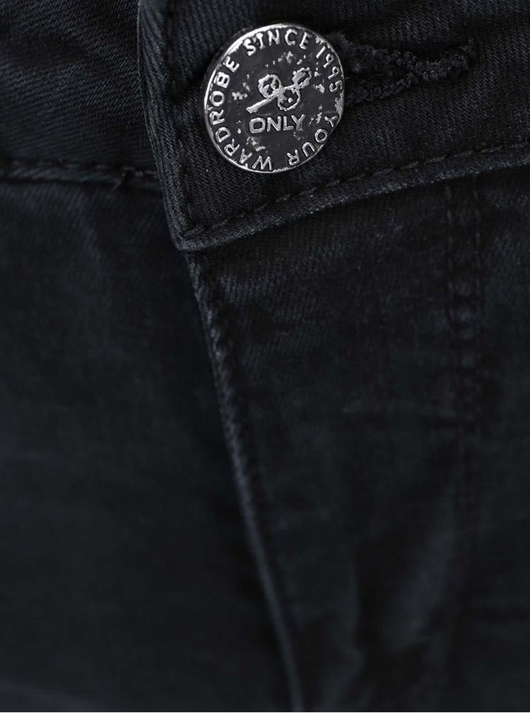 Černé skinny džíny ONLY Ultimate