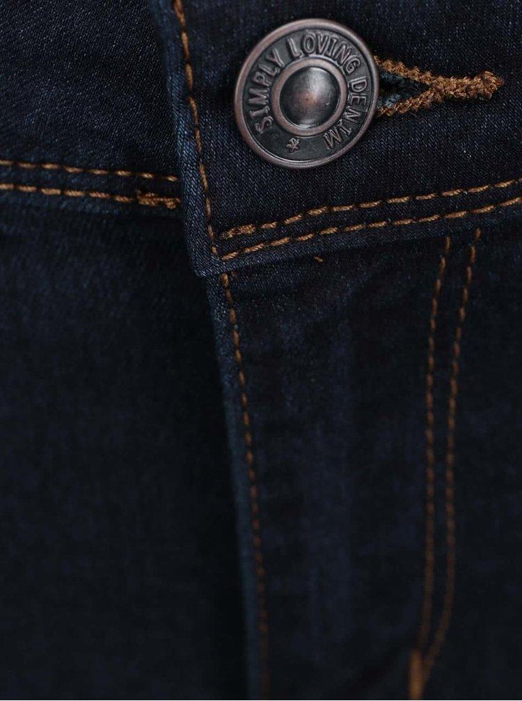 Tmavě modré slim džíny VERO MODA Flex-It