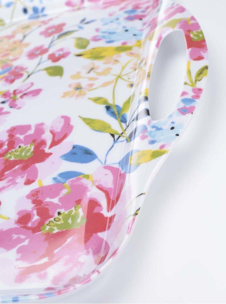 Květovaný větší tác Cooksmart Floral Romance