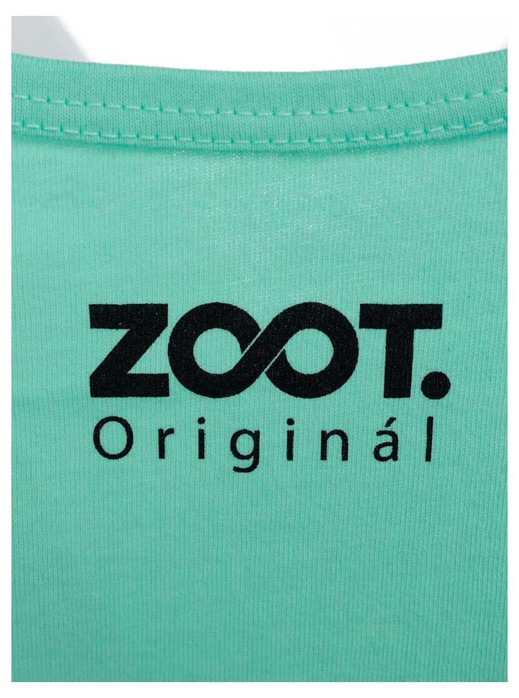 Maiou ZOOT Original verde deschis cu model de damă