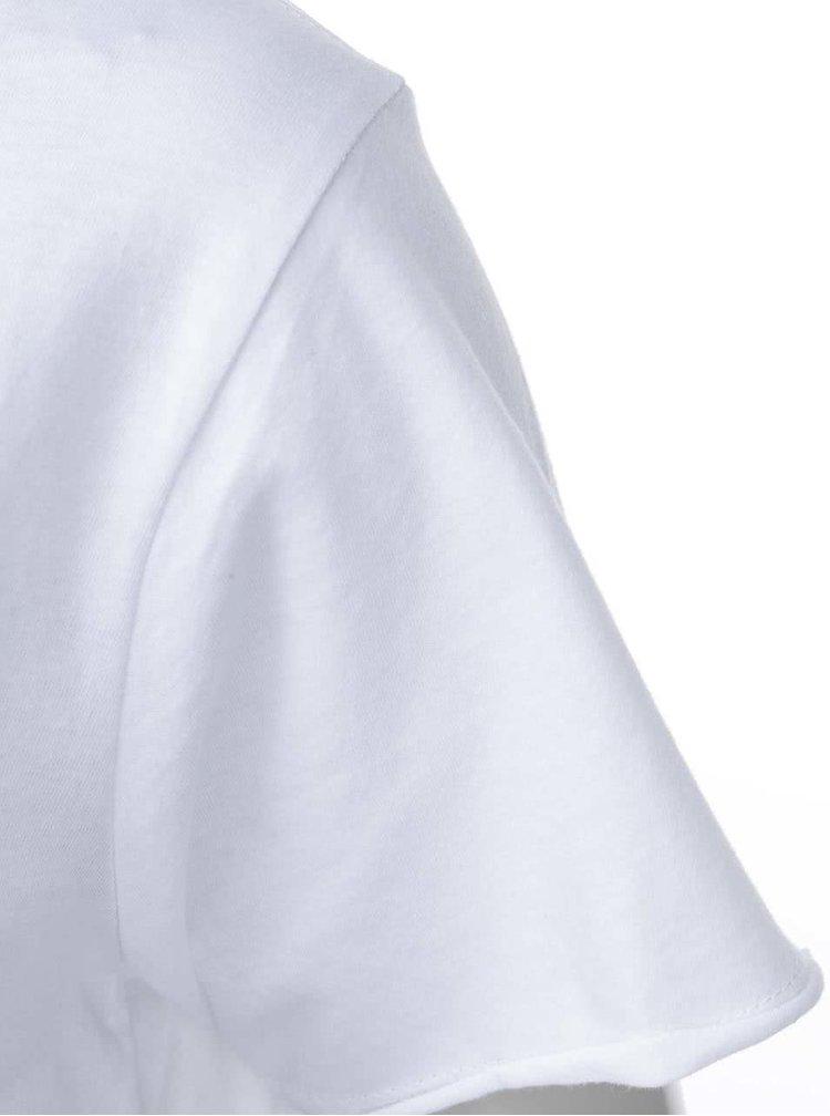Biele dámske tričko ZOOT Originál Don´t Worry Be Sexy